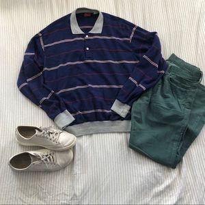 Vintage Bruce Jenner Collared Sweatshirt